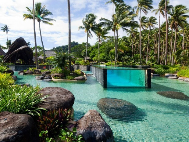 Piscina Laucala Island Resort