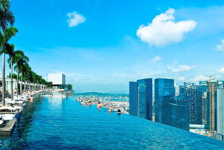 piscina singapur